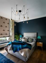 Spider Floor L Blue Bedrooms With House Of Hackney Print Bedroom Eclectic And L