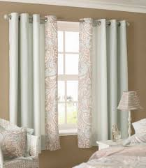 sensational interior decorations with double white curtains for