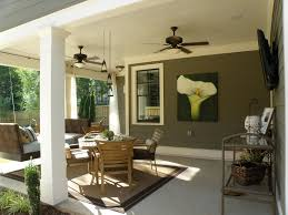 Home Outdoor Decorating Ideas Back Patio Column Lisa Hatch Designer Show House Athens