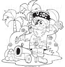 royalty free stock pirate designs of printable coloring pages