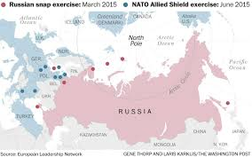 Europe And Russia Map by 3 Maps That Show How Russia And Nato Might Accidentally Escalate
