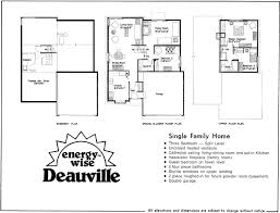 house plans side split house plan