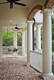 How To Build A Wrap Around Porch The 25 Best Brick Porch Ideas On Pinterest Farm House Porch