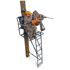 ameristep brotherhood 17 deluxe 2 person ladder tree stand