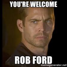 Rob Ford Meme - ford meme generator