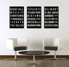 wall art ideas design project provides canvas nashville wall art wall art ideas design typography sign nashville modern industrial black white giclee poster home decoration graphic