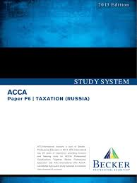 download acca atc f6 taxation russia study system 2013 docshare tips