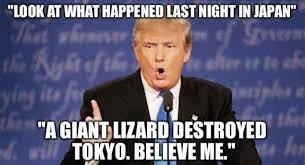 Donald Trump Meme - what happened in japan funny donald trump meme