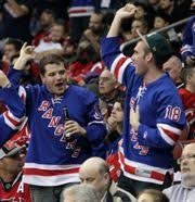 new york rangers fans new york rangers larry brown sports