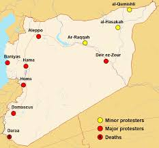 Damascus Syria Map by Observers Visit Syria Death Toll Rises Care2 Causes