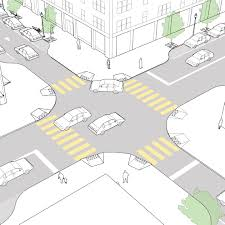 crosswalks and crossings national association of city