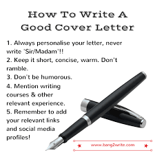 bang2write how to write a great cover letter that gets results