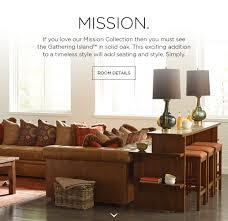 stickley gather mission decor pinterest craftsman furniture