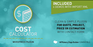 cost calculator wordpress plugin by boldthemes codecanyon