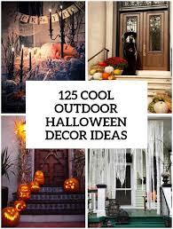 Outdoor Halloween Decorations Pinterest - outdoor halloween decor ideas halloween lighting scary outdoor
