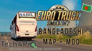 mod car game euro truck simulator 2 euro truck simulator 2 bangladesh map mods download link inc