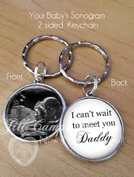 baby keychain baby sonogram keychain i can t wait to meet you