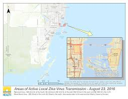 Map Of Hollywood Florida by Department Of Health Daily Zika Update Florida Department Of Health