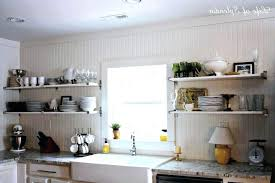 Open Shelf Kitchen Cabinet Ideas Open Shelf Kitchen See Everything And Keep It In Order Open