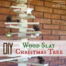 pneumatic addict diy wood slat christmas tree