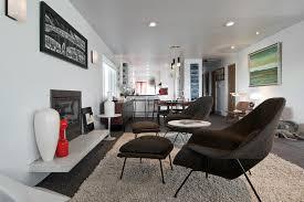 kas rugs in living room midcentury with modern minimalist house