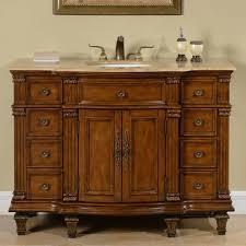 48 Single Sink Bathroom Vanity by Silkroad Exclusive Trenton 48
