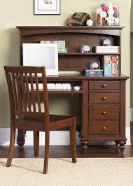 Solid Oak Desk With Hutch by Brown Varnished Mahogany Wood Student Desk With Solid Wood Chair