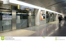 Las Vegas Mccarran Airport Map by Terminal Tram In Mccarran International Airport Usa Stock Video