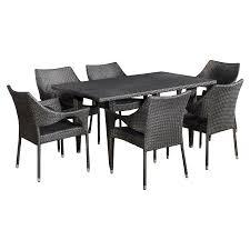 outdoor best selling home decor furniture melanie wicker 7 piece