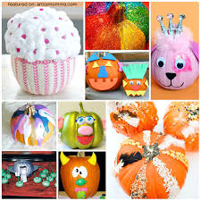 Decorate Pumpkin 26 Cool Pumpkin Decorating Ideas For Kids Artsy Momma