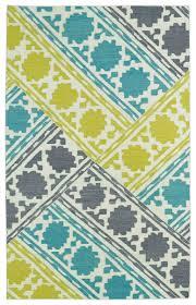 kaleen rugs glam gla02 78 turquoise area rug carpetmart