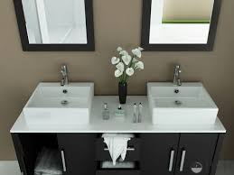 double vanity with vessel sink u2014 home ideas collection wonderful