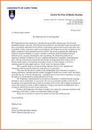 bunch ideas of academic reference letter masters in cover letter