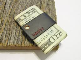 wedding money clip for father of the bride minimalist gift sleek