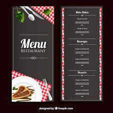 50 free restaurant menu template freebies designer arsenal