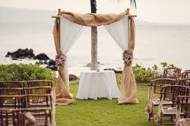 wedding arches rustic rustic coral seafoam green destination wedding