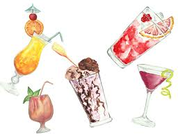 cocktail clipart cocktails watercolor clipart watercolor drinks clip art