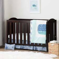 Cribs With Mattresses Brown Cribs Mattresses Baby Furniture The Home Depot
