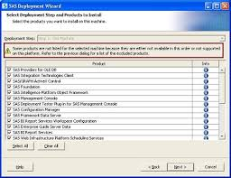 44320 using deployment plans during a sas installation