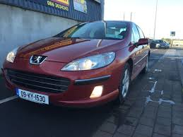 used peugeot 407 used peugeot 407 2009 petrol 1 8 wine for sale in laois