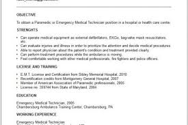 Paramedic Resume Examples by Emt Paramedic Resume Sample Resumes Design Paramedic Resume