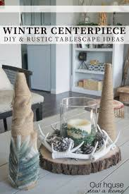 january decorations home diy rustic holiday table decor simple christmas tree crafts u2022 our