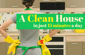 how to keep your house clean in 15 minutes a day sparkpeople