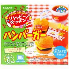 hamburger popin u0027 cookin u0027 kit diy candy by kracie diy japanese