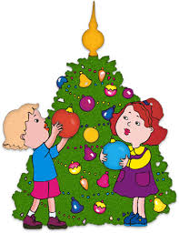 christmas tree decorating clipart 2140023