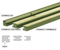 acquisto cornici on line cornice per pannelli in pino impregnato in autoclave