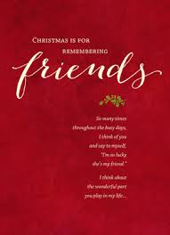 remembering christmas friends christmas card cardstore