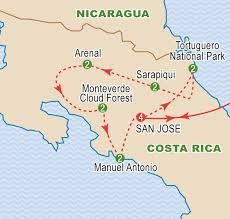 Map Of San Jose Costa Rica by Costa Rica March 2017 Craig Travel