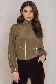 stine goya alfie silk blouse na kd