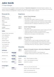 best resume templates 20 resume templates create your resume in 5 minutes